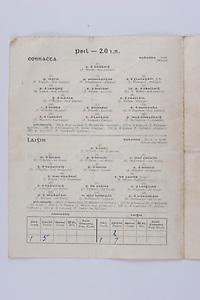 Interprovincial Railway Cup Football Cup Final,  17.03.1954, 03.17.1954, 17th March 1954, referee A Mac Giolla Cearr, Connacht 1-05, Leinster 1-07, Football Team Connacht, A Brady, P English, P Prendergast, S Flanagan, B Lynch, T Dillon, Lt F Kelly, G O'Malley, J Nallen, I O'Dowd, S Purcell, E O'Donohoe, T Hayden, T Langan, P McGarrity, J McAndrew, J Mangan, P Irwin, F Gaffney, P Stockwell,  Football Team Leinster, J O'Neill, M O'Brien, P O'Brien, K McConnell, G O'Reilly, P Dunne, A Murphy, J Rogers, S White, J O'Reilly, O Freaney, C O'Leary, P Meegan, J McDonnell, K Heffernan, T Malone, D O'Mahoney, J Morris, T Conlan,P Casey, .Interprovincial Railway Cup Hurling Cup Final,  17.03.1954, 03.17.1954, 17th March 1954, referee M S O Flairbeartaig, Leinster 0-09, Munster 0-05,