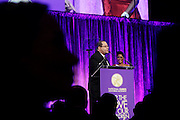 January 30, 2017-New York, New York-United States: (L-R) Rev. Dr.Michael Eric Dyson and TV Personality Tamron Hal attend the National Cares Mentoring Movement 'For the Love of Our Children Gala' held at Cipriani 42nd Street on January 30, 2017 in New York City. The National CARES Mentoring Movement seeks to dispel that notion by providing young people with role models who will play an active role in helping to shape their development.(Terrence Jennings/terrencejennings.com)