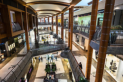 Interior of Burjuman shopping mall in Dubai United Arab emirates