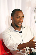 Anthony Mackie at ' The Young Hollywood ' panel at The 2008 American Black Film Festival  held at The Writers Guild of America on August 9, 2008...The Festival film slate is primarily composed of world premieres (shorts, narrative features and documentaries), positioning it as the leading film festival in the world for African American and urban content. Since its inception ABFF, has screened over 450 films and has rewarded and redefined artistic excellence in independent filmmaking.