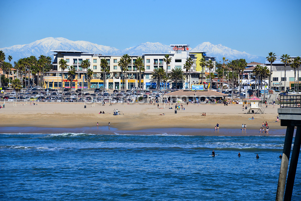 Downtown Huntington Beach from the Pier