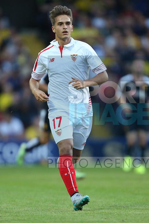 Denis Suarez of Sevilla - Watford vs. Sevilla - Friendly - Vicarage Road - London - 31/07/2015 Pic Philip Oldham/Sportimage