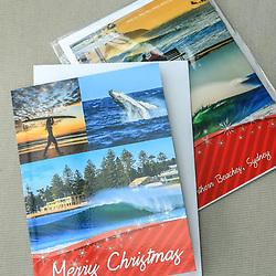Merry Christmas Breaching Whale Card