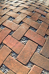 brick weaved cobble stone