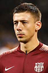 November 6, 2018 - Milan, Italy - Clement Lenglet of Barcelona during the Group B match of the UEFA Champions League between FC Internazionale and FC Barcelona on November 6, 2018 at San Siro Stadium in Milan, Italy. (Credit Image: © Mike Kireev/NurPhoto via ZUMA Press)