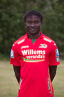 20150626 - OOSTENDE, BELGIUM: Oostende's Elimane Coulibaly pictured during the 2015-2016 season photo shoot of Belgian first league soccer team KV Oostende, Friday 26 June 2015 in Oostende. BELGA PHOTO KURT DESPLENTER