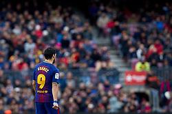 December 2, 2017 - Barcelona, Catalonia, Spain - Luis Suarez of FC Barcelona looks on during the La Liga match between FC Barcelona and Real Celta de Vigo at Camp Nou on December 2, 2017 in Barcelona, Spain  (Credit Image: © David Aliaga/NurPhoto via ZUMA Press)