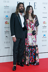 Monica Bellucci and Nicolas Lefebvre attending the Elle gala dinner for CRIS Foundation against Cancer at Intercontinental Hotel in Madrid, Spain, May 30, 2019. Photo by Archie Andrews/ABACAPRESS.COM