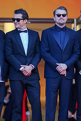 Orlando Bloom, Leonardo DiCaprio attend the screening of The Traitor during the 72nd annual Cannes Film Festival on May 23, 2019 in Cannes, France. Photo by Shootpix/ABACAPRESS.COM