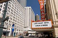 Chicago Theatre, Chicago, Illinois