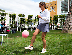 May 14, 2019 - Rome, ITALY - Daria Kasatkina of Russia during a video shoot at the 2019 Internazionali BNL d'Italia WTA Premier 5 tennis tournament (Credit Image: © AFP7 via ZUMA Wire)