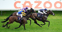 File photo dated 10-09-2021 of Able Kane ridden by Oisin Murphy (right). Able Kane can register a third course success at Leicester when he tackles seven furlongs for a second time. Issue date: Monday October 11, 2021.