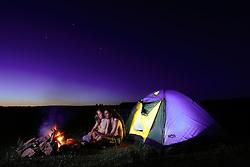 Camping a céu aberto em lugar deserto. FOTO: Jefferson Bernardes/Preview.com