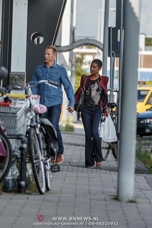 NLD/Amsterdam/20150828 - Sylvana Simons en partner Bert