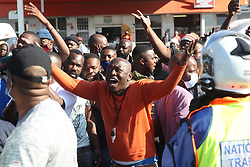 South Africa - Pretoria - 22 June 2020 - Angry taxi operators on Commissioner street in Shoshanguve as the taxi strike continues.<br /> Picture: Jacques Naude/African News Agency(ANA)