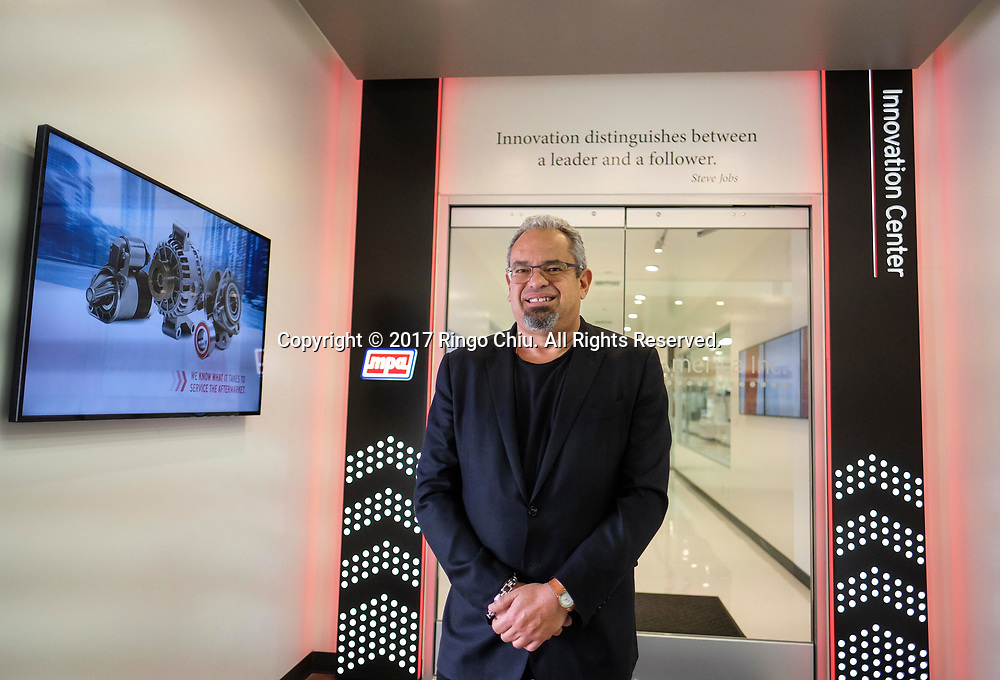 Selwyn Joffee, CEO of Motorcar Parts of America, a Torrance-based company acquired D&V Electronics, a Canadian company.(Photo by Ringo Chiu)<br /> <br /> Usage Notes: This content is intended for editorial use only. For other uses, additional clearances may be required.