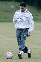 Fotball<br /> Norge trener i Tyskland foran landskampen mot Sør-Afrika<br /> Frankfurt<br /> 26.03.2009<br /> Foto: Alfred Harder, Digitalsport<br /> NORWAY ONLY<br /> <br /> Martin Andresen