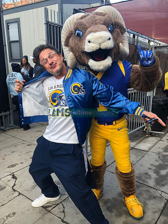 """David Arquette releases a photo on Twitter with the following caption: """"""""Who's House? @rams HOUSE!!! #RAMSHOUSE"""""""". Photo Credit: Twitter *** No USA Distribution *** For Editorial Use Only *** Not to be Published in Books or Photo Books ***  Please note: Fees charged by the agency are for the agency's services only, and do not, nor are they intended to, convey to the user any ownership of Copyright or License in the material. The agency does not claim any ownership including but not limited to Copyright or License in the attached material. By publishing this material you expressly agree to indemnify and to hold the agency and its directors, shareholders and employees harmless from any loss, claims, damages, demands, expenses (including legal fees), or any causes of action or allegation against the agency arising out of or connected in any way with publication of the material."""
