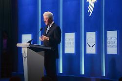 September 19, 2016 - New York, New York, USA - Bill Clinton beim Jahrestreffen 2016 der Clinton Global Initiative im Hotel Sheraton Times Square. New York, 19.09.2016 (Credit Image: © Future-Image via ZUMA Press)