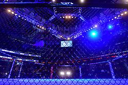 Nov 12, 2016 - New York, New York, U.S. - A general view of the octagon before UFC UFC 205 at Madison Square Garden. (Credit Image: © Jason Silva via ZUMA Wire)