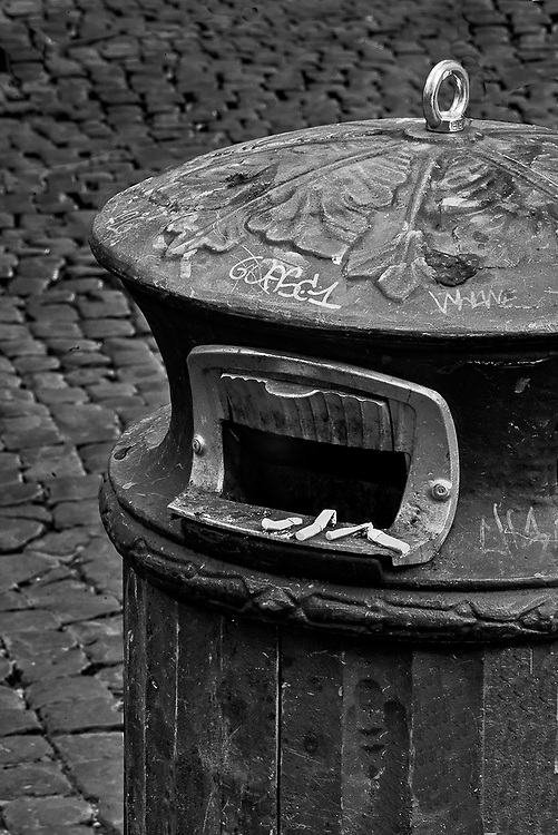 Butts and Trash, Rome, Italy