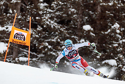28.12.2017, Stelvio, Bormio, ITA, FIS Weltcup, Ski Alpin, Abfahrt, Herren, im Bild Patrick Kueng (SUI) // Patrick Kueng of Switzerland in action during mens Downhill of the FIS Ski Alpine Worldcup at the Stelvio course, Bormio, Italy on 2017/12/28. EXPA Pictures © 2012, PhotoCredit: EXPA/ Johann Groder