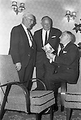 1962 - Urney staff presentation at the Central Hotel