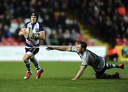 Bristol Rugby's Matthew Morgan  - Photo mandatory by-line: Joe Meredith /JMP - Mobile: 07966 386802 - 06/03/2015 - SPORT - Rugby - Bristol - Ashton Gate - Bristol Rugby v Nottingham Rugby - Greene King IPA Championship