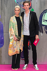 © Licensed to London News Pictures. 03/08/2016. POPPY DELEVINGNE and JAMES COOK attend the Suicide Squad UK Film Premiere  London, UK. Photo credit: Ray Tang/LNP