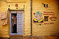 Street scene in Jaisalmer, India. Photo by Lorenz Berna