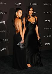 2018 LACMA Art + Film Gala at LACMA on November 3, 2018 in Los Angeles, California. CAP/MPI/IS ©IS/MPI/Capital Pictures. 03 Nov 2018 Pictured: Kourtney Kardashian, Kim Kardashian West. Photo credit: IS/MPI/Capital Pictures / MEGA TheMegaAgency.com +1 888 505 6342