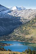 Hidden Lake in Glacier National Park, Montana.