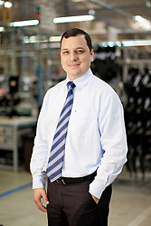 O diretor administrativo-financeiro da KEKO, Volnei Ebertz, na fábrica da empresa em Flores da Cunha. FOTO: Jefferson Bernardes/Preview.com
