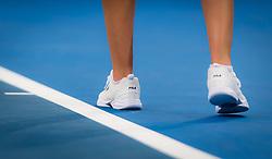 December 31, 2018 - Brisbane, AUSTRALIA - Karolina Pliskova of the Czech Republic in action during her first-round match at the 2019 Brisbane International WTA Premier tennis tournament (Credit Image: © AFP7 via ZUMA Wire)