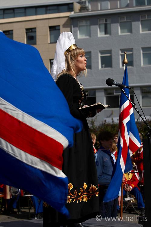 17th of June, Celebration of the Independence day of Iceland - Lýðveldisdagur Íslands, 17 júní
