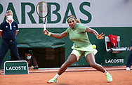 Serena Williams of USA during day 4 of the French Open 2021, Grand Slam tennis tournament on June 2, 2021 at Roland-Garros stadium in Paris, France - Photo Jean Catuffe / ProSportsImages / DPPI