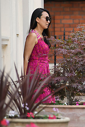 © Licensed to London News Pictures. 24/07/2019. London, UK. JEREMY HUNT (not pictured) leaves his home in Westminster, London with his wife LUCIA the morning after losing the Conservative party leadership election. The Conservative Party has elected Boris Johnson as their new leader and Prime Minister, following Theresa May's announcement that she will step down. Photo credit: Ben Cawthra/LNP