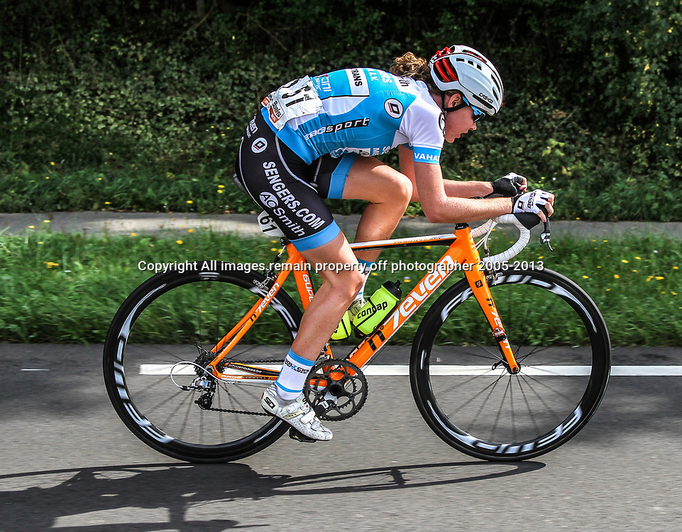 Boels Rental Ladies Tour Bunde-Valkenburg Anna van der Breggen very active in this stage.