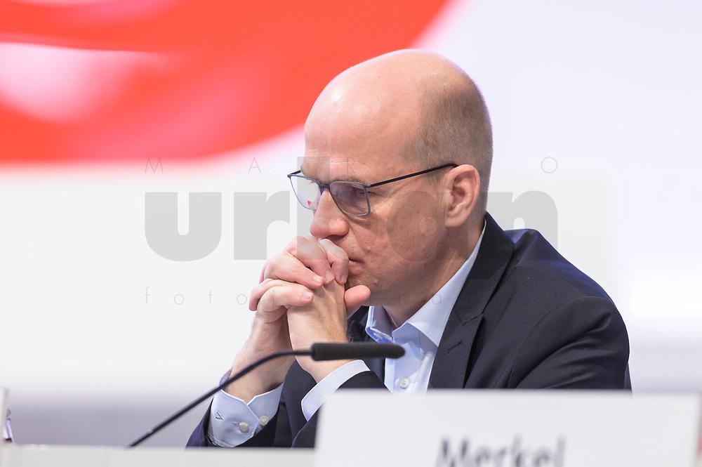 22 NOV 2019, LEIPZIG/GERMANY:<br /> Ralph Brinkhaus, CDU, Vorsitzender der CDU/CSU Bundestagsfraktion, CDU Bundesparteitag, CCL Leipzig<br /> IMAGE: 20191122-01-040<br /> KEYWORDS: Parteitag, party congress