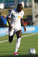 Modou Barrow of Swansea city in action. Pre-season friendly match, Barnet v Swansea city at the Hive in London on Wednesday 12th July 2017.<br /> pic by Steffan Bowen, Andrew Orchard sports photography.