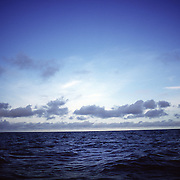 A seascape photographed between Playa Arenal (near Pedasi, Panama) and Isla Iguana.