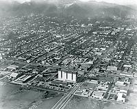 1925 Looking NW at Santa Monica Blvd. & Highland Ave.