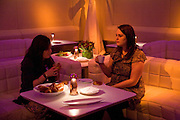 Addidi breakfast, Sketch. London. 11 March 2008 *** Local Caption *** -DO NOT ARCHIVE-© Copyright Photograph by Dafydd Jones. 248 Clapham Rd. London SW9 0PZ. Tel 0207 820 0771. www.dafjones.com.