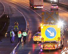 M25 Two Lanes Closed