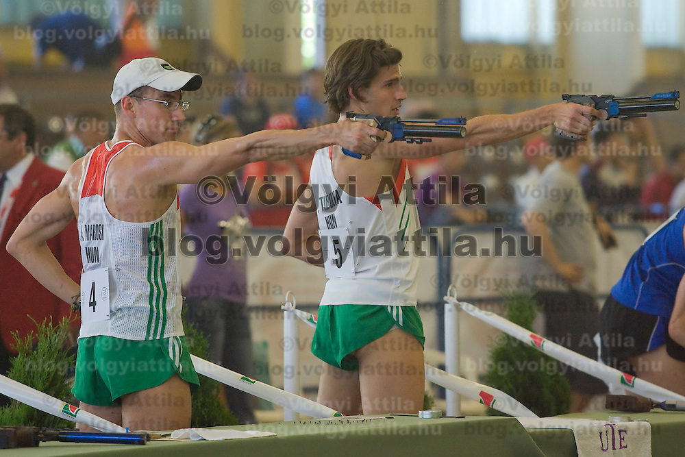 Pentathlon mens world cup held in Budapest, Hungary. Friday, 08. May 2009. ATTILA VOLGYI