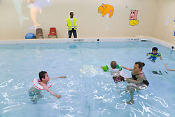 Hydrotherapy in a school for children with physical disabilities,