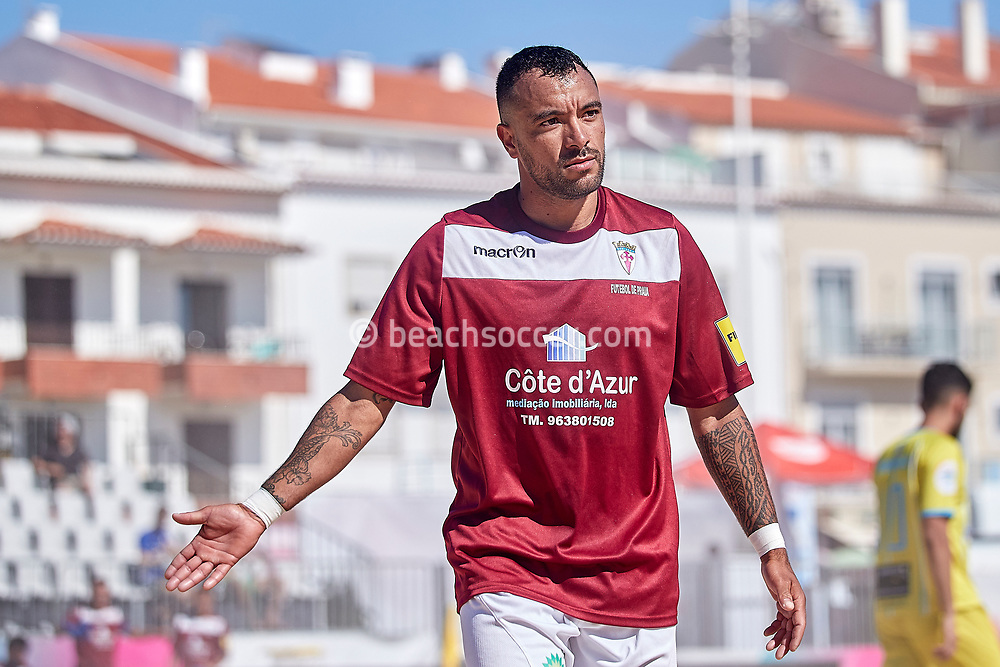 NAZARE, PORTUGAL - MAY 31: Ricardo Ferraz of GD Sesimbra during the Euro Winners Challenge Nazaré 2019 at Nazaré Beach on May 31, 2019 in Nazaré, Portugal. (Photo by Jose M. Alvarez)