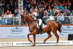 Bachmann Andersen Daniel, DEN, Marshall-Bell<br /> European Championship Dressage - Hagen 2021<br /> © Hippo Foto - Dirk Caremans<br /> 11/09/2021