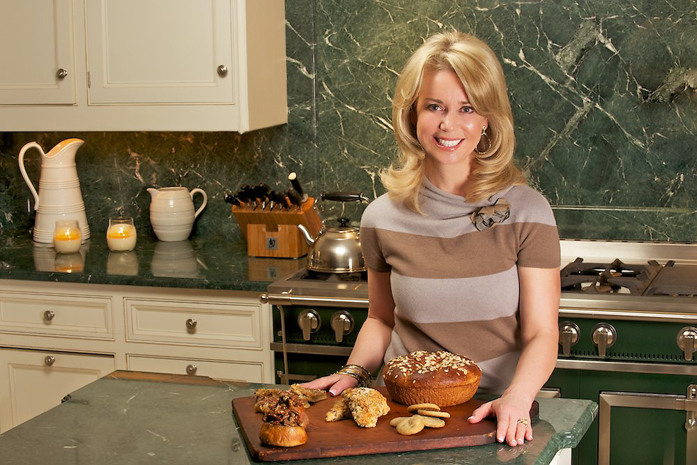 Chef Lydia Tuner of Crown Maple Syrup in her Montclair, NJ chef's kitchen.