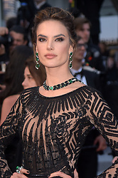 "71st Cannes Film Festival 2018, Red Carpet film ""Blackkklansman"". Pictured: Alessandra Ambrosio"
